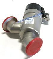 MKS INSTRUMENTS INC. LOPRO ROUND BODY IN-LINE VACUUM VALVE, NW 50