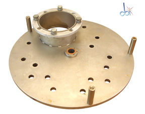 VACUUM FITTING, BASEPLATE/ENDPLATE