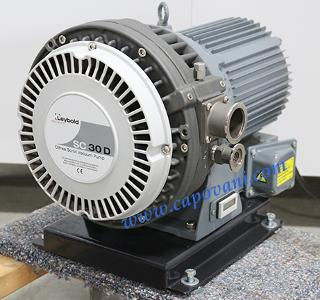 LEYBOLD OERLIKON SCROLL VACUUM PUMP, 18.5 CFM