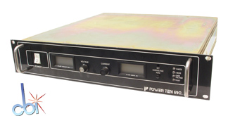 POWER TEN INC. DC POWER SUPPLY 20V, 150A