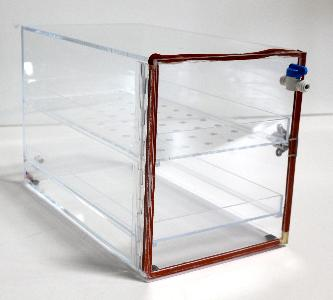 DESICCATOR DRY BOX SINGLE COMPARTMENT