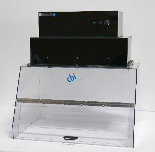 TERRA UNIVERSAL INC. SMALL SINGLE UNIVERSAL FUME HOOD WITH LAMINAR FLOW BLOWER